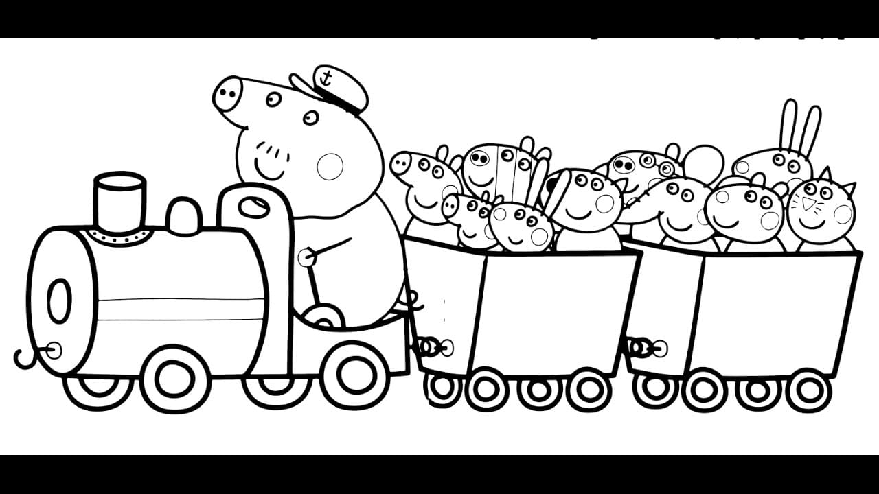 Haut Coloriage Peppa Pig 87 sur Coloriage idée for Coloriage Peppa Pig