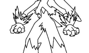 Haut Coloriage Pokemon Nemelios 46 sur Coloriage idée with Coloriage Pokemon Nemelios