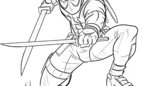 Haut Deadpool Coloriage 86 sur Coloriage Pages by Deadpool Coloriage