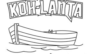 Haut Koh Lanta Coloriage 44 Dans Coloriage Pages with Koh Lanta Coloriage