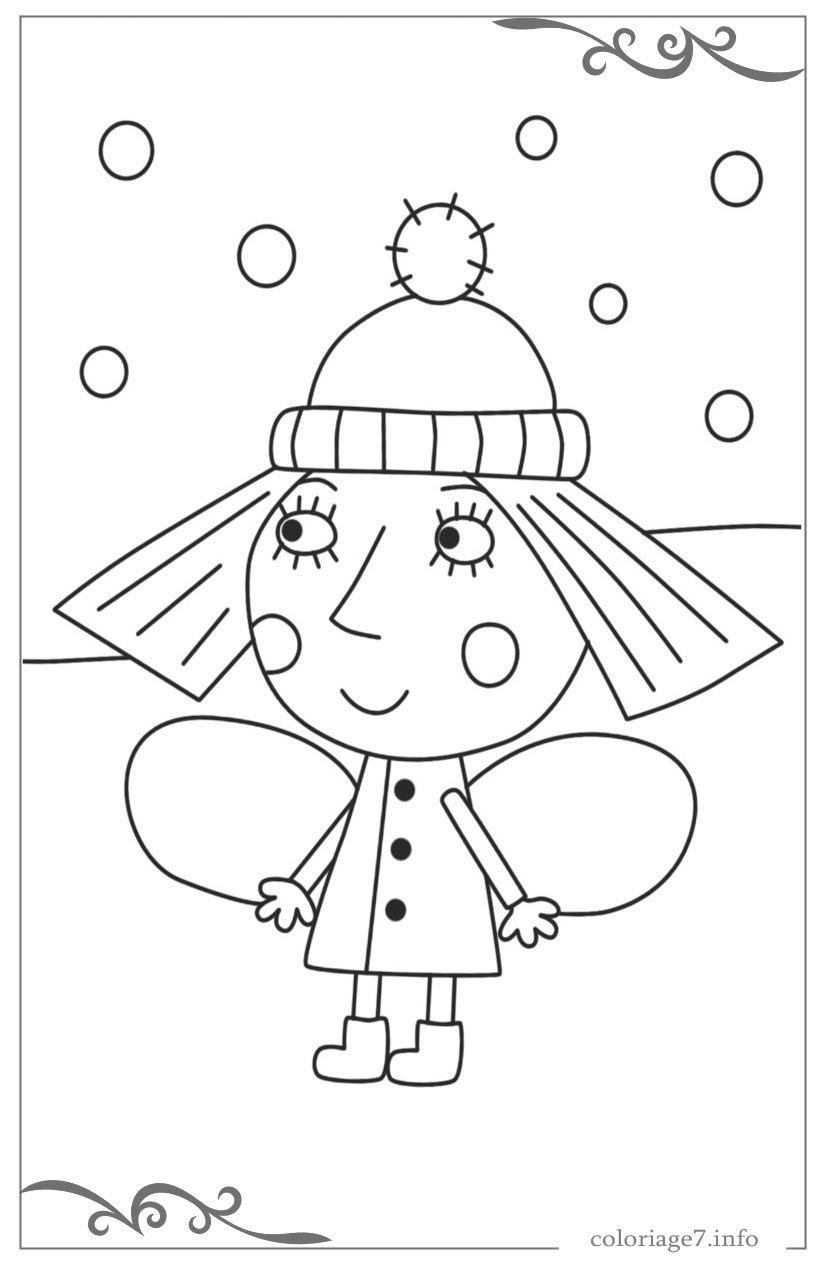 Impressionnant Ben Et Holly Coloriage 36 Dans Coloriage Inspiration for Ben Et Holly Coloriage