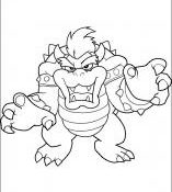 Impressionnant Bowser A Colorier 71 sur Coloriage Pages with Bowser A Colorier