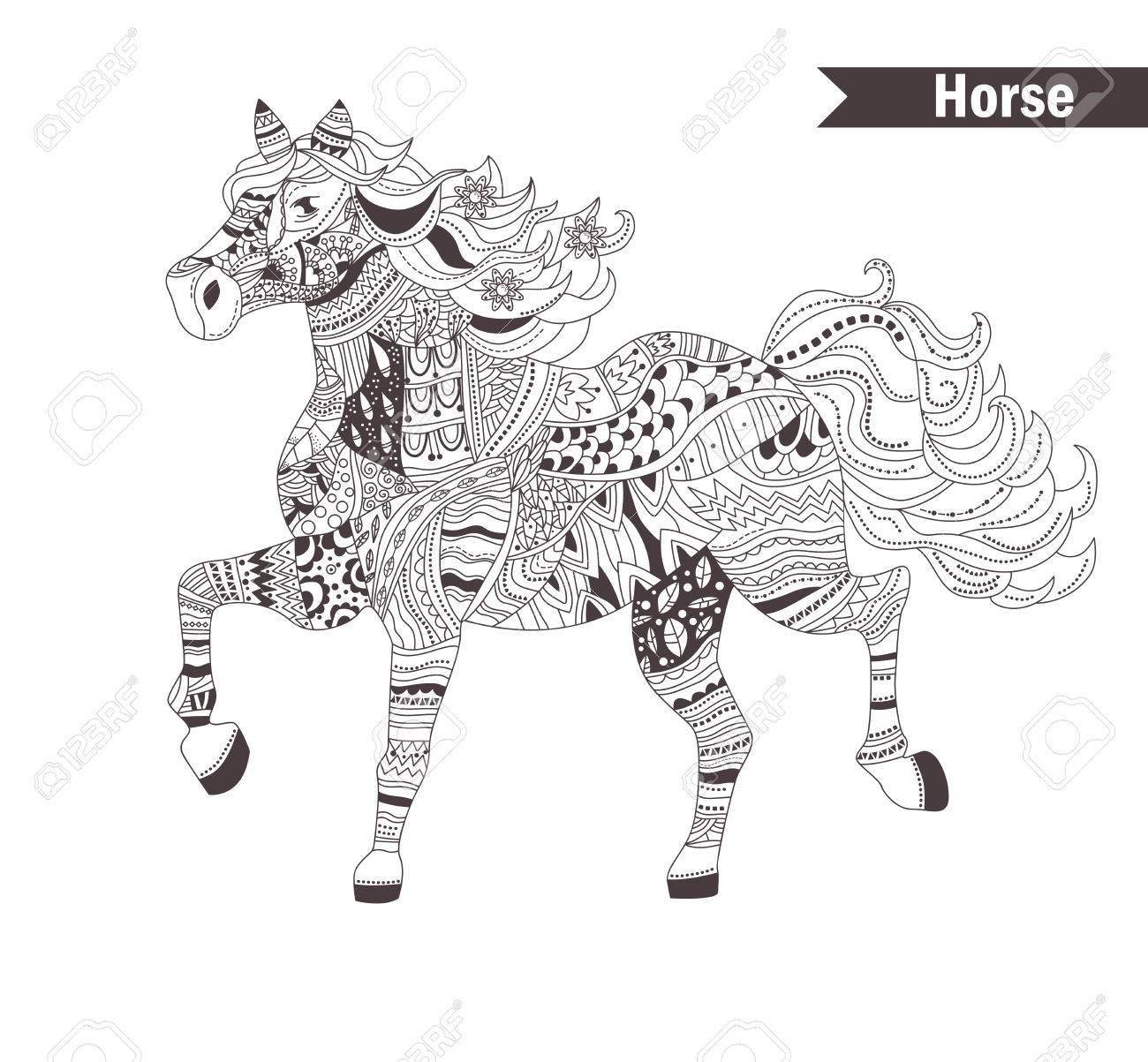 Impressionnant Coloriage Anti Stress Cheval 56 Avec supplémentaire Coloriage Pages for Coloriage Anti Stress Cheval