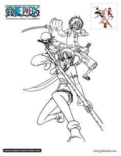 Impressionnant Coloriage One Piece Equipage 25 Pour Coloriage idée with Coloriage One Piece Equipage
