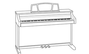 Impressionnant Coloriage Piano 42 sur Coloriage idée by Coloriage Piano