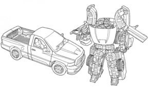 Impressionnant Coloriage Transformers Bumblebee 94 Pour votre Coloriage Books with Coloriage Transformers Bumblebee