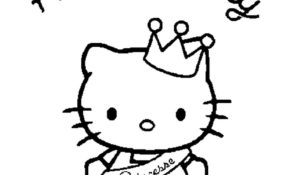 Magnifique Coloriage De Hello Kitty 61 Pour Coloriage Pages by Coloriage De Hello Kitty