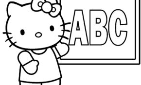 Magnifique Coloriage De Hello Kitty 77 Pour votre Coloriage Inspiration for Coloriage De Hello Kitty