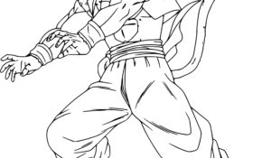 Magnifique Coloriage Dragon Ball Z 69 sur Coloriage idée for Coloriage Dragon Ball Z