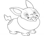 Magnifique Coloriage Pokemon Mignon 51 sur Coloriage Books with Coloriage Pokemon Mignon