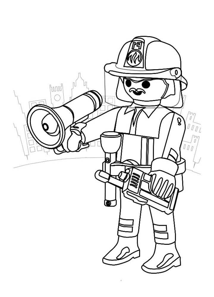 Magnifique Coloriage Police Playmobil 79 sur Coloriage Pages by Coloriage Police Playmobil