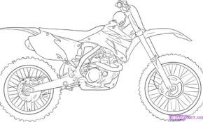 Magnifique Moto Cross A Colorier 73 Dans Coloriage Inspiration for Moto Cross A Colorier