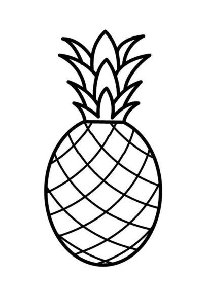 Meilleur Coloriage Ananas 72 Dans Coloriage Pages by Coloriage Ananas