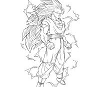 Meilleur Coloriage Dragon Ball Z Sangoku Super Sayen 4 84 sur Coloriage Pages with Coloriage Dragon Ball Z Sangoku Super Sayen 4