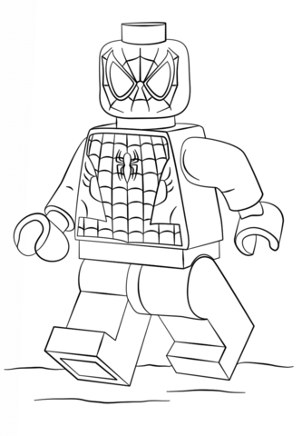 Meilleur Coloriage Lego Spiderman 65 Pour votre Coloriage Books for Coloriage Lego Spiderman