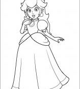 Meilleur Coloriage Princesse Mario 50 sur Coloriage Inspiration for Coloriage Princesse Mario