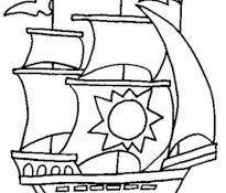 Meilleur Dessin Bateau Pirate Simple 40 Dans Coloriage Pages with Dessin Bateau Pirate Simple