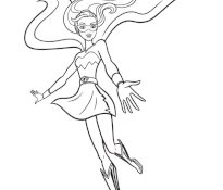 Mignonne Coloriage Barbie Super Princesse 76 Dans Coloriage Books by Coloriage Barbie Super Princesse