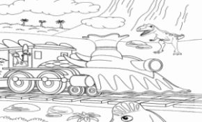 Mignonne Coloriage Dino Train 16 Dans Coloriage Inspiration for Coloriage Dino Train