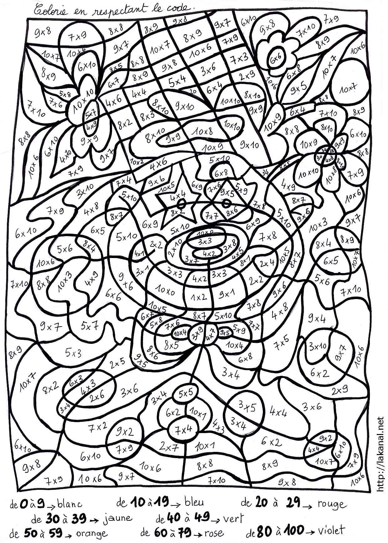 Mignonne Coloriage Magique Table De Multiplication Ce1 46 Avec supplémentaire Coloriage Pages by Coloriage Magique Table De Multiplication Ce1