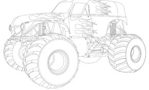 Mignonne Coloriage Monster Truck 96 sur Coloriage Books with Coloriage Monster Truck