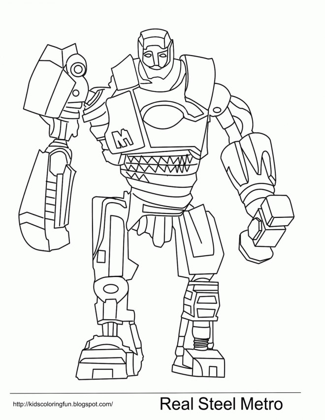 Mignonne Coloriage Real Steel 69 sur Coloriage Books with Coloriage Real Steel